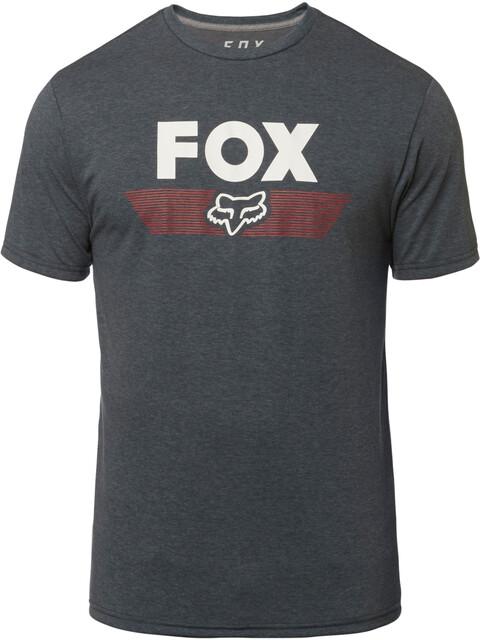 Fox Aviator SS Tech Shirt Men heather deep cobalt